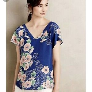 Anthropologie - Maeve Floral Top
